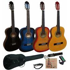 Pack de guitarra clásica española de iniciación cadete 3/4 con 5 accesorios