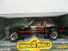 ERTL American Muscle '69 SHELBY GT-500 Black 1969 Convertible 1:18 scale