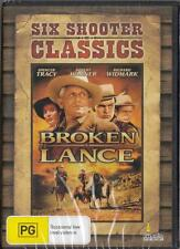 BROKEN LANCE - SPENCER TRACY- NEW & SEALED REGION 4 DVD FREE LOCAL POST