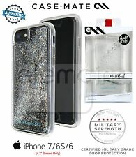 Case Mate Naked Tough Waterfall Case for iPhone 8 iPhone 7 6 6s SILVER DIAMOND