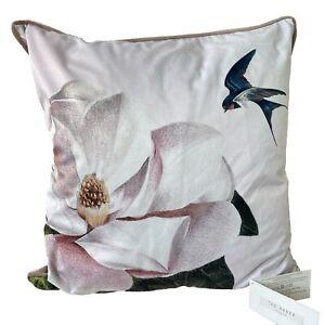 Ted Baker New Floral Cushion Bird Opal 45x45