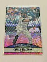2019 Donruss Baseball Pink Franchise Features - Charlie Blackmon - Rockies