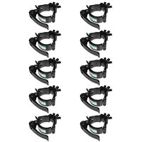 Quick Lock/Release Lighting Clamp Truss 2In DJ Light Clamps TUV Heavy Duty 10PCS