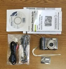 Canon PowerShot A590 IS 8.0MP Digital Camera - Gray - USED