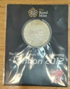 2012 Royal Mint Official Olympic £5 Coin Sealed