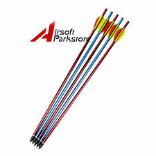 "5pcs 20"" Hunting Archery Aluminum Crossbow Arrows Bolts for 150 180 lb lbs"