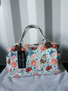 New Classy Bags Uk Rose Fruit Green/ Baby Blue  Handbags