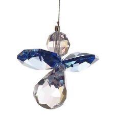 Azul ángel guardián Swarovski Elements Colgante Cristal suncatcher & Bolsa De Regalo