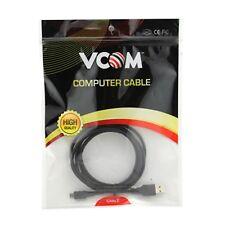 Vcom USB 2.0 A (m) A Usb 2.0 Micro B (M) 1.8 M CU271-180 negro paquete por menor