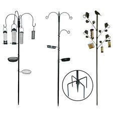 More details for garden wild bird hanging feeding station water bath table seed feeder hammertone