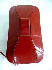 RARE VINTAGE RETRO ITALIAN ROTARY DIAL RED TELEPHONE PHONE ENAMEL GUILLOCHE