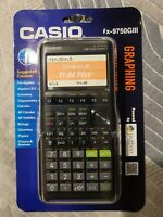 CASIO fx-9750 GIII Graphing Calculator, Sealed