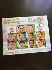 1998 Malaysia Commonwealth Gold Medalists Sheetlet MNH Fresh Stamps