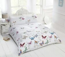 Butterfly Duvet Cover Set Printed Quilt Cover Bedding with Pillow Case 3 Size's