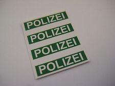 Corgi Juniors No 59 Mercedes Polizei Police Car Stickers - B2G1F