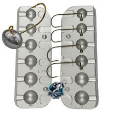 Football Jig - Sinker Mold - Cast Aluminum