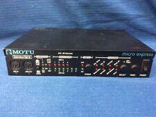 Motu Express Micro 4x6, 96 Channels