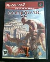 God of War Sony PlayStation 2 Greatest Hits PS2 Tested Working w Manual