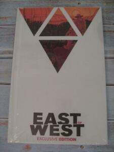 EAST OF WEST Vol 1 NYCC Exclusive VARIANT Hickman (X-Men) HC Hardcover NM Image