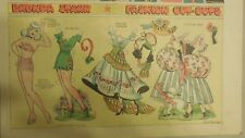 Brenda Starr Sunday with Large Uncut Paper Dolls from 7/13/1941 Full Size Page