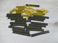 16 Stück Steckpreisschilder / Preisschild / Preisauszeichnung gold farben NEU