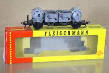 FLEISCHMANN 1473 5230 DB Von HAUS zu HAUS CONTAINERWAGEN WAGON 015204 MIB ni