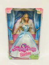 Sleeping Beauty Barbie 1998 Blue Dress 26895
