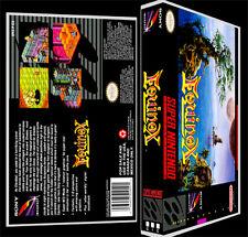 Equinox - SNES Reproduction Art Case/Box No Game.