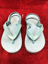 Blue Flip Flops For Toddler Size 7/8