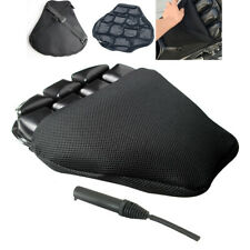 "15""x14.2"" Large Soft Motorcycle Seat Cushion Air Pad Black Mesh Cover Universal"