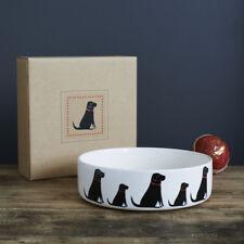 Sweet William Large Ceramic Dog Food Or Water Bowl / Dish LABRADOR Design