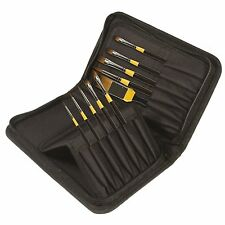 Daler Rowney System 3 Classic Zip Case 10 Artists Acrylic Brushes Short Handle