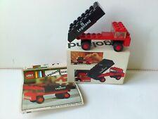 set 7824 6621 1972 Charniere rouge LEGO Vintage red Hinge ref 4276a et 4275a