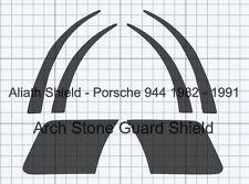 PORSCHE 944 Set X6 chiaro Arch scheggiatura Guardia Vernice Protezione Decalcomanie lamine