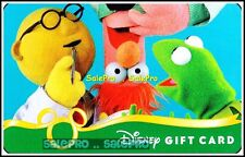 DISNEY 2010 MUPPETS SHOW NEXT EXPERIMENT PLANNING COLLECTIBLE GIFT CARD