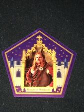 Harry Potter chocolate frog card Hengist Of Woodcroft Rare Limited Edition