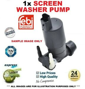 1x WINDSCREEN WASHER PUMP for MERCEDES BENZ SPRINTER 3.5-t Box 314 CDI 2016->on