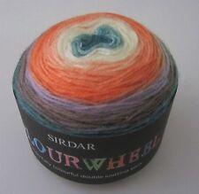 5.3 oz Ball of Sirdar COLOURWHEEL dk Gradient yarn color #203 FLOWER GARDEN