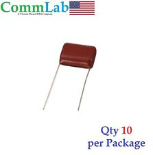 0.33uF 630v 5% Metalized Polypropylene Film Capacitors P15 (10 Pieces) (.33uf)