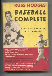 Baseball Complete 1952-Russ Hodges-1st edition w/dust jacket-baseball history...