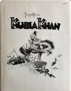 RARE Frank Frazetta's Kubla Khan  Portfolio