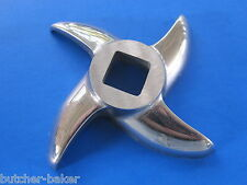 "#42 size Meat grinder knife Cutter Blade for Cabelas 1 3/4"" H.P + Weston etc"