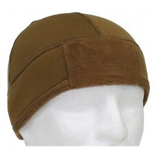 CAPPELLO FLEECE OPERATION MFH COYOTE BROWN SOFTAIR AIRSOFT MILITARE TG. 59-62