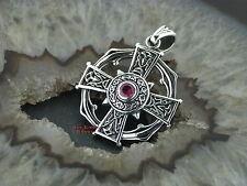 Ketten Anhänger Celtic Cross EK Eisernes Kreuz Gothic Celtic Silber 925