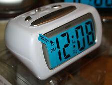 Acctim Auric LCD Uhr Weiß