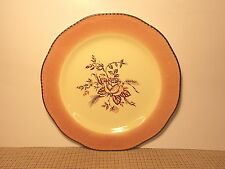 Wood & Sons Fine China England Colonial Rose Accent Dinner Plate