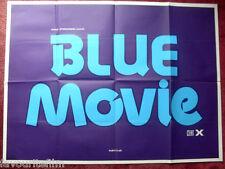 Cinema Poster: BLUE MOVIE 1978 (Quad) Danielle Dugas Claude Maran Joseph Dickson