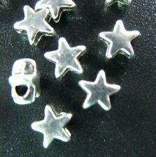 130pcs Tibetan Silver Tiny Star Spacer Beads R1418
