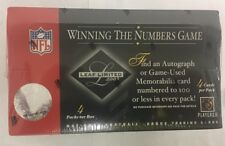 2003 Leaf Limited Football Hobby Box Factory Sealed