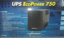 UPS Gruppo Continuità Eurogroup ECOPOWER 750VA/420W- Stabilizzatore- Interactive